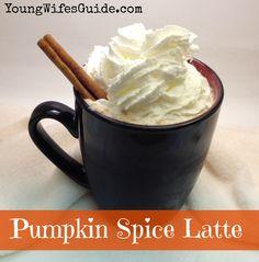 Crockpot Pumpkin Spice Latte {Autumn Favorites Series}