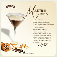 Martini Maya by Baileys