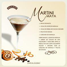 Martini Maya by Baileys