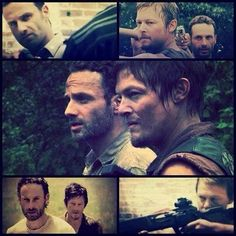 Have mercy...Rick and Daryl