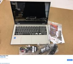 general for sale: Toshiba L55w-C5236 2In1 15.6 Touchscreen Laptop Intel I5 8Gb Ram 1Tb Hdd New BUY IT NOW ONLY: $499.98 #priceabategeneralforsale OR #priceabate