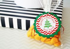 New to Mariapalito on Etsy: 12 Christmas  Tree Tags Personalized Christmas Tags or Package Labels Handmade Tags Christmas Gift Tags A1145 (7.00 USD)