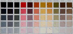 Rembrandt Zorn Palettes  - test squares by Westberg Fine Art.  Ivory Black, Yellow Ochre, Cad Med Red and White.