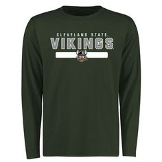 Cleveland State Vikings Team Strong Long Sleeve T-Shirt - Green - $27.99
