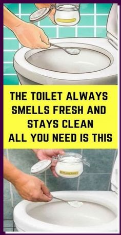 Bathroom Cleaning Hacks, Household Cleaning Tips, Toilet Cleaning, Cleaning Recipes, Household Cleaners, House Cleaning Tips, Deep Cleaning, Cleaning Toilets, Cleaning Supplies