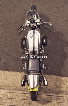 Machine's Perfect Moto Guzzi Cafe Racer #motorcycles #caferacer #motos | caferacerpasion.com