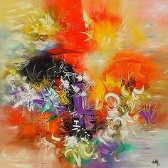 abstract painting ideas acrylic - Google Search