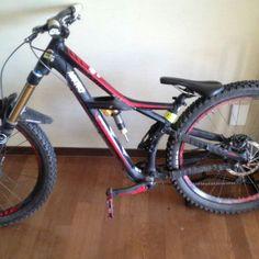 Broken bike of Oliver havenhand