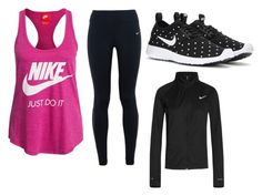 """""""nike winter day"""" by abelinaruiz on Polyvore featuring NIKE"""