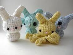These amigurumis rock and roll.  Moon's creations is a fave of mine.