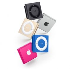 Apple iPod shuffle  SHOP ONLINE: http://www.purelifestyle.be/shop/view/technology/ipod/ipod-shuffle-goud