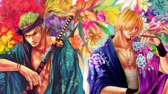 Zoro Sanji One Piece Art Anime HD Wallpaper 1920×1080