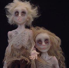 Ignorance and Want   Doll inspiration   Art, Art dolls, Kinder art