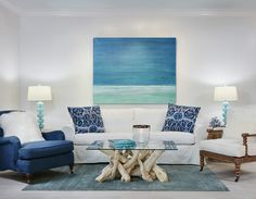 I know there are lots of beautiful blue water photos with docks and such in the middle that Scott has mentioned he liked. This made me think of that. It may be a bit oregon coast vacation home for me, but it could be adapted to work well