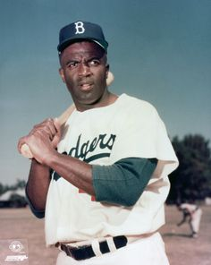 """Jackie Robinson was a man of multiple """"firsts,"""" including being the first black baseball player in the MLB."""