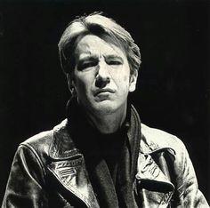 "Alan Rickman in ""Mephisto"" as Hendrik Hofgen in 1986. Royal Shakespeare Company, Barbican Theatre, London, England"