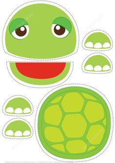 Turtle Toy Paper Craft Paper craft