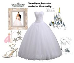 a cinderella story by lizzynupa on Polyvore featuring moda, Stila and Kate Marie