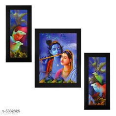 Checkout this latest Religious Paintings & frames_500-1000 Product Name: *Decorative Wall Paintings Without Glass*