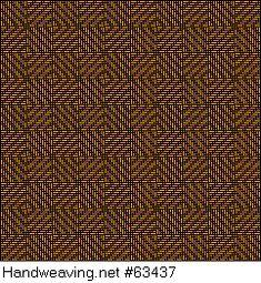 Drawdown Image: Karierte Muster Pl. XI Nr. 5, Die färbige Gewebemusterung, Franz Donat, 8S, 8T
