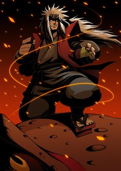 NARUTO:Jiraiya by GODTAIL.deviantart.com