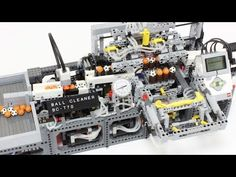 LEGO GBC module : Ball Cleaner BC-T70 with EV3 - YouTube