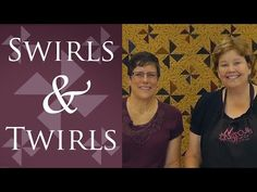 Delainey's Twirls & Swirls Quilt: Easy Quilting Tutorial with Jenny Doan of Missouri Star Quilt Co - YouTube