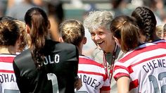 'I will miss this team.' -- Pia Sundhage. (Victor Decolongon/Getty Images)