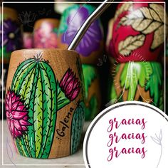 Cactus, Painted Clay Pots, Posca, Sharpie, Flower Pots, Alcohol, Projects, Gifts, Handmade