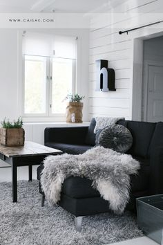 Warm textures help to stave off the Scandanavian chill
