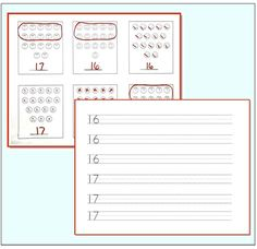 Give your students lots of practice counting sets and writing numbers 10 - 20 with this KinderLit set.  There are two numbers for writing on each page and then sets to count for those numbers.  Great for math stations or centers! ($)
