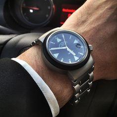 The Mühle-Glashütte S.A.R Rescue-Timer - Great German precision & adore the chubby face. #wristkind #muhleglashutte #mühleglashütte #sar #watch #watches #instawatch #watchcollector #watchshop #watchaddict #dailywatch #watchmania #watchesofinstagram #watch