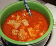 Posole. Mexican Posole. Posole Recipe. How to make Posole. Red sauce with pork. Authentic Mexican Food.