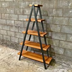 Estante Xis Industrial Style Xis Bookcase with Xis Iron Structure and Solid Wood Shelves from Steel Style Móveis Industriais. Welded Furniture, Iron Furniture, Steel Furniture, Refurbished Furniture, Repurposed Furniture, Industrial Furniture, Pallet Furniture, Rustic Furniture, Furniture Makeover