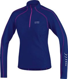 Gore Bike Wear Womens Contest Thermo Jersey Plum BlueBlue Berry Large * Check out the image by visiting the link.Note:It is affiliate link to Amazon. #iphoneonly