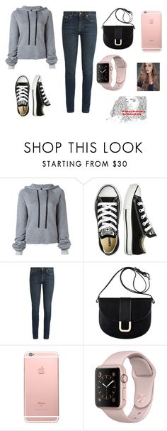 """Untitled #606"" by starbucks-is-bae123 ❤ liked on Polyvore featuring Unravel, Converse, Yves Saint Laurent and A.P.C."