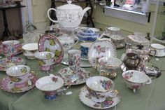 We always have a wonderful selection of teacups