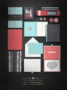 Bookjigs Woodland Product Line Packaging on Packaging of the World - Creative Package Design Gallery