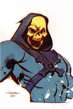 Skeletor  by *marciotakara