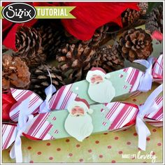 Sizzix Tutorial | Christmas Treat Popper by Laura Russell