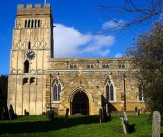 All Saints church Earls Barton Northamptonshire