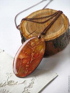 МК оттиски растений и создание украшений с ними - Ярмарка Мастеров - ручная работа, handmade