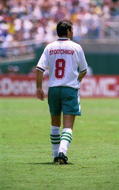 Hristo Stoichkov, FIFA World Cup 1994, saw him play versus Argentina in Dallas, TX.