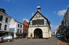 Bridgnorth - Dominating the High Street this magnificent timber framed building was built in 1652. The splendidly preserved interior contains numerous historical town artifacts.