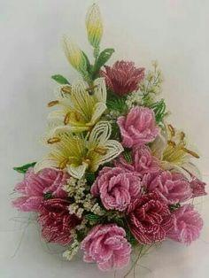 Beading flowers
