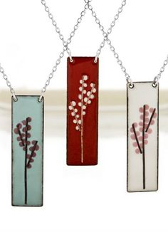 cherry blossom necklace... the 3rd!