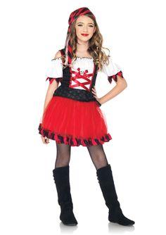 Aye Aye Captain Girls Costume Price: $28.99