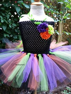 Hey, I found this really awesome Etsy listing at https://www.etsy.com/listing/245138407/witch-tutu-dress-girls-witch-costume