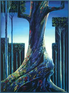 Medieval Forest by Eyvind Earle