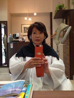 髪を切りま~す